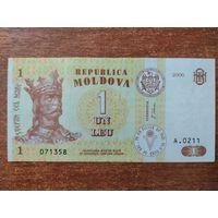 Молдова 1 лей 2006