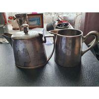 Молочник и кофейник