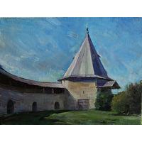 Башня крепости в Старой Ладоге