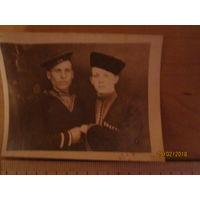 Фото моряка и казака