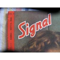 Журнал Signal гитлеровская Германия постеры цветное фото