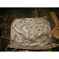 Нихромовая спираль 10мм с керамическими изоляторами( нихром1.8мм). и 12кг-0.5мм-катушка