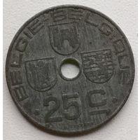 Бельгия 25 сантим 1945