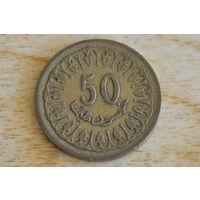 Тунис 50 миллимов 1960