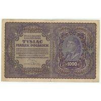 Польша, 1000 марок польских 1919 год.
