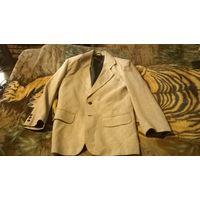 Пиджак мужской светло-серый однобортный