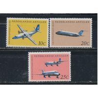 NL Колонии Нидерландские Антилы 1968 30 лет национальной авиакомпании Самолеты #198-200**