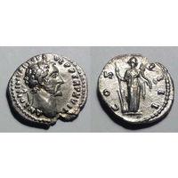 Римская Империя. Антонин Пий, 138-161 гг, денарий.