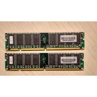 Старая память DIMM SDRAM 32MB (x2) COMPAQ