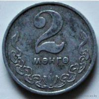 Монголия, 2 менге, 1970