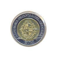 Уругвай 10 долларов 2011г.