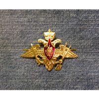 Эмблема на тулью (кокарда) РВСН России.