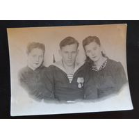 Фото семейное, конец 1940-х гг.