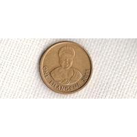 Свазиленд 1 лилангени 2011/Эсватини(новый тип(тоньше обычной)(Ki)