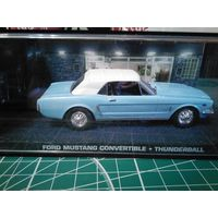 Продам  James Bond 007 Car Collection Ford Mustang convertible (Thunderball)