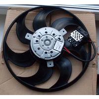 Вентилятор с датчиком на охлаждения радиатора двигателя к опель-зафира новый оригинал BOCH