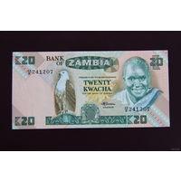 Замбия 20 квача 1986 UNC