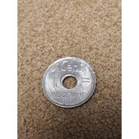 Индокитай Французский 1 цент 1943