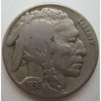 США 5 центов 1936 г. (d)