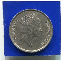 Бермудские острова , Бермуды 10 центов 1995