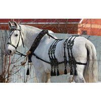Упряжь для лошадей - хомуты всех размеров, уздечки, вожжи, дуги, шлеи....