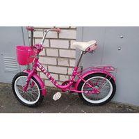 Велосипед Stels Joy диаметр колёс 16 с корзинкой и зеркалом