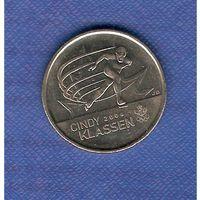 25 центов 2009 г.