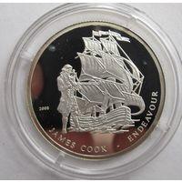Берег слоновой кости, 500 франков, 2008, серебро, пруф