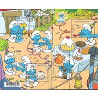 Бельгия 2008 Мултфильм Смуртфики  Комиксы | Мультипликация Лист **