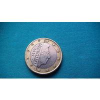 Люксембург 1 евро 2002г . распродажа