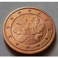 2 евроцента, Германия 2007 J