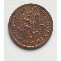 Чехословакия 10 геллеров, 1936 4-4-29