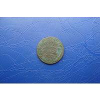1 грош 1755                                      (5585)