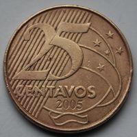 Бразилия, 25 сентаво 2005 г.