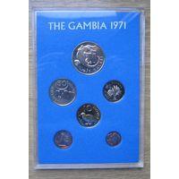 Гамбия, набор 1971