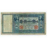 Германия, 100 марок 1910 год.