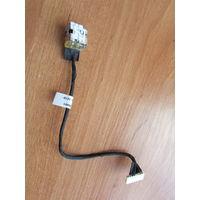 HP Compaq G72 разъем питания dd0ax8pb001