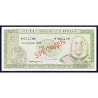 Тонга / TONGA_1978_1 Paanga_Specimen_P#CS1_UNC