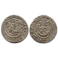 Полугрош 1526, Жигимонт Старый, Вильно. Окончания легенд: Ав - ':15Z6:', Рв - 'LITVANIE'