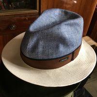 Шляпа Alfonso d'este Италия Лен новая 56 Унисекс Оригинал