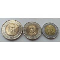 Эквадор. 3 монеты. 100,500,1000 сукре