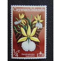 Британские Каймановы острова 1971 г. Орхидеи.