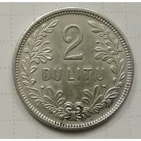 Литва 2 лита 1925