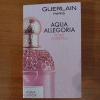 Пробник парфюмерная вода guerlain paris aqua allegoria flora cherrysia