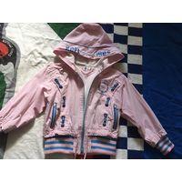 Куртка ветровка р. 110-122