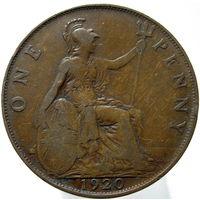 Великобритания 1 пенни 1920 (374)