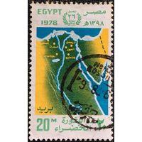 ЦІКАВІЦЬ АБМЕН! 1978, мапа Эгіпту (20)