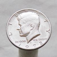 США 50 центов 1972 D
