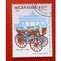 Никарагуа. Автомобиль. ( 1 марка ) 1984 года.