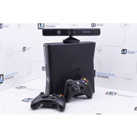 Черная консоль Microsoft Xbox 360 Slim 4GB (LT 3.0) + Kinect. Гарантия